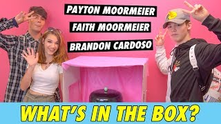 Payton Moormeier vs. Faith Moormeier & Brandon Cardoso - What's in the Box?