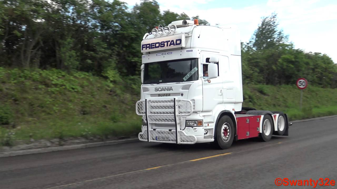Bien connu 4K| Scania R580 V8 Sound - YouTube HI91