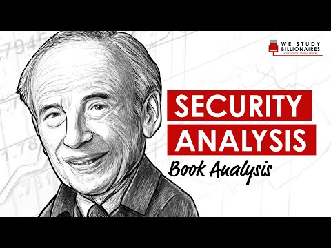 EP62: WARREN BUFFETT'S FAVORITE BOOK, SECURITY ANALYSIS