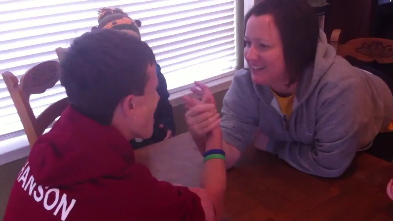 Mom breaks sons arm - YouTube