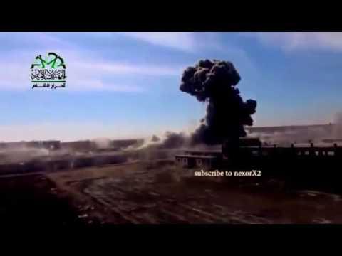 Термобарические бомбы Сирия Алеппо