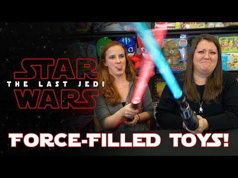 GET READY FOR STAR WARS: THE LAST JEDI WITH THESE FORCE-FILLED TOYS!