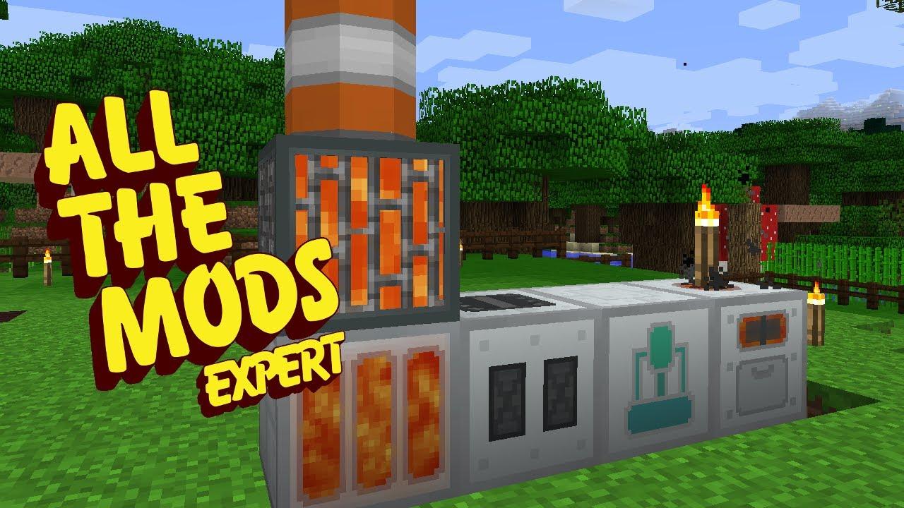 All The Mods Expert Mode MACHINE MADNESS E18 (Minecraft Expert