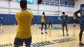 UCLA men\'s basketball practice video after Alford\'s firing