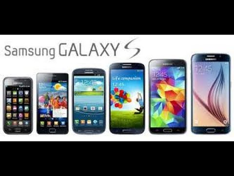 History of Samsung Galaxy S Phones 2010 - 2016