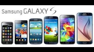 History of Samsung Galaxy S Phones 2010 - 2016(, 2016-06-25T22:23:17.000Z)