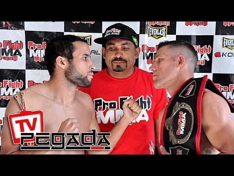 TV Pegada #0030 - Pro Fight MMA Brasil 35 - Pesagem Oficial