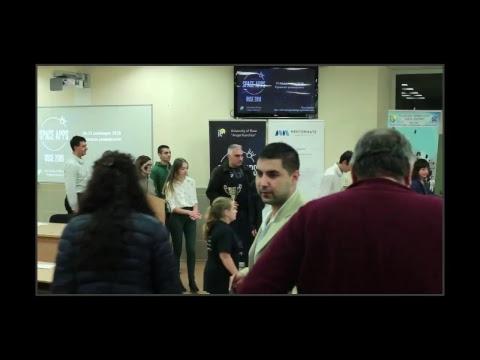 NASA Space App Challenge 2018 Rousse Winners