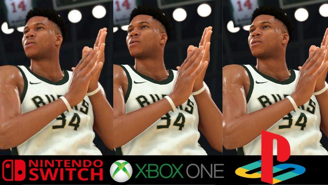 Nba 2k20 Nintendo Switch Vs Xbox One X Vs Ps4 Pro Comparison