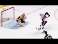 Karlsson's hail mary springs Hoffman who fools Rask