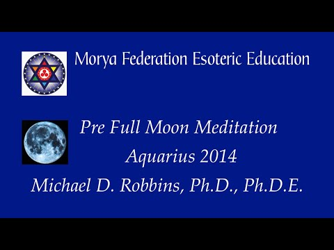 Aquarius Full Moon Broadcast 3Feb15