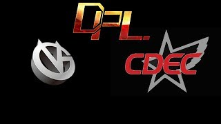VG vs CDEC  DPL 2017 Highlights Dota 2