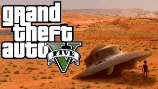 (GTA5)UFOのパーツ全部ゲット&トロフィー星々の彼方からゲット&レア車ゲットw