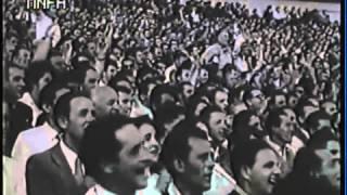 38.Товарищеский матч 1957 г. Венгрия-СССР 1-2(ВЕНГРИЯ - СССР - 1:2 (1:1) 22 сентября 1957 г. Товарищеский матч. Будапешт. Стадион