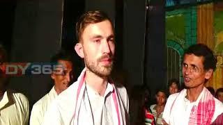 Majuli || Assam || London Youth  participating in Raas Mahotsav