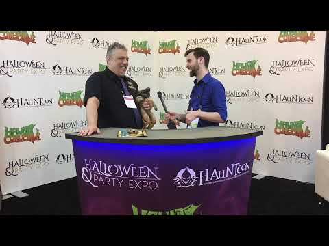 The Best Mask Company Debuts A New Line Of Horror | Pumpkin Pulp Live At Hauntcon 2020
