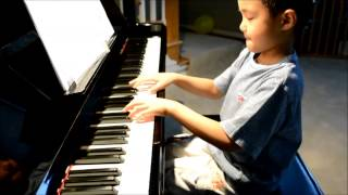 """UNTITLED SONG NO. 9"" - Composed by a 6-year-old Nicholas Nguyen - Young Piano Composer"