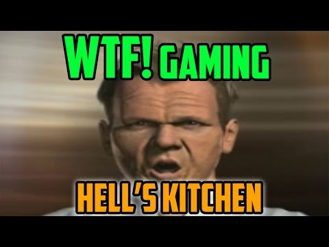 We Played Hell's Kitchen... On Wii... (WTF Gaming)