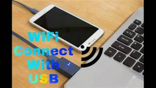 How to connect Tethering hotshot using USB