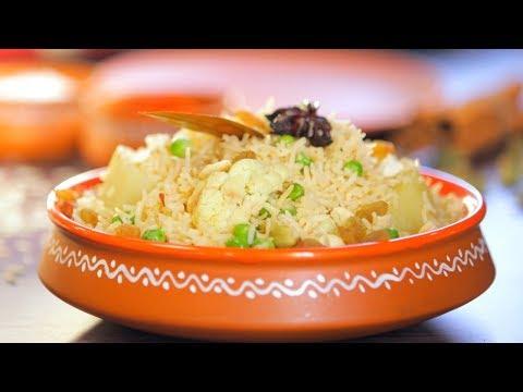Bengali Style Vegetable Tehari   Aakhnirjoler Niramish Tehri By Ananya #DurgaPuja Special Recipe