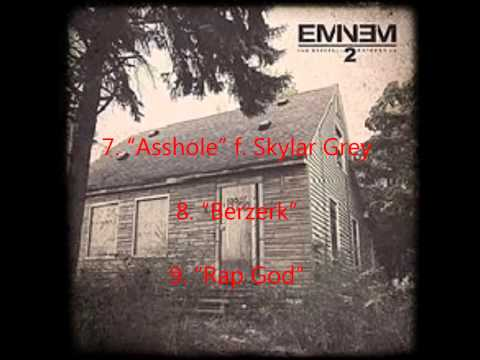 Eminem MMLP2 Tracklist