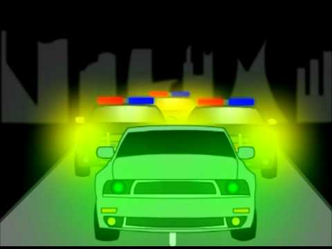 Car Chase Flash Animation Project Youtube