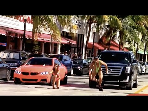 Street Racing In Miami Beach ! Prank !