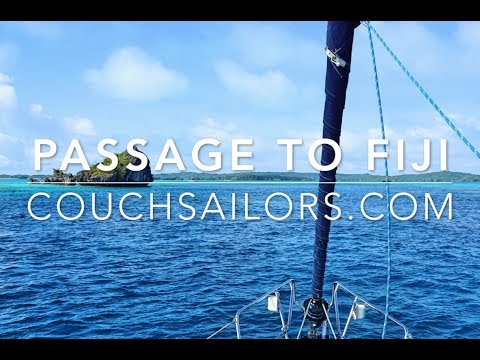Sailing Passage to Fiji || COUCHSAILORS SAILING JOURNAL #24