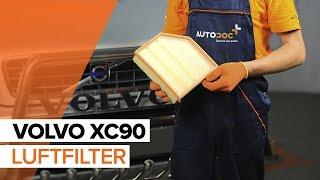 Wie Luftfiltereinsatz VOLVO XC90 I wechseln - Online-Video kostenlos