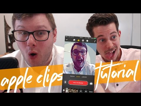 Apple Clips Tutorial   How to Use Apple's New Clips App