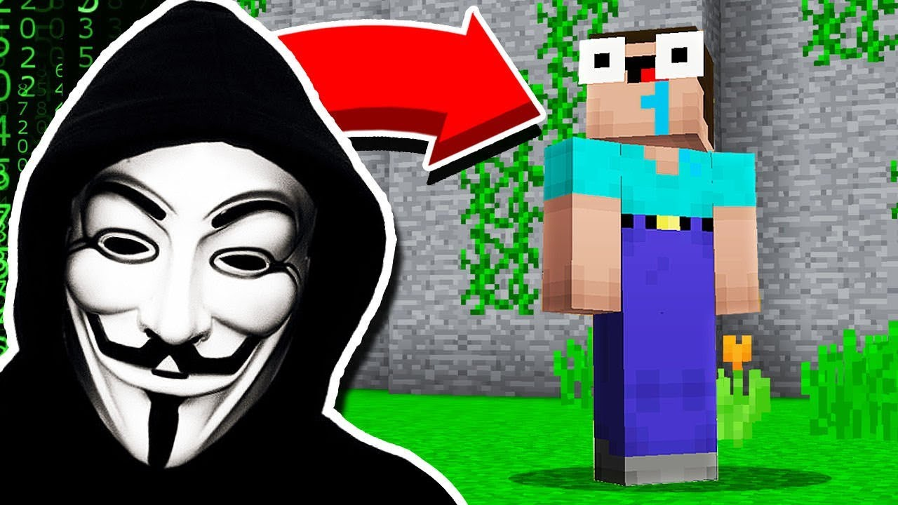 I *HACKED* My Little Brother in Minecraft Pocket Edition!