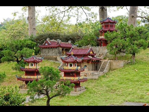 China, Shenzhen, Splendid China Miniature Park (锦绣中华民俗村). Part 2.