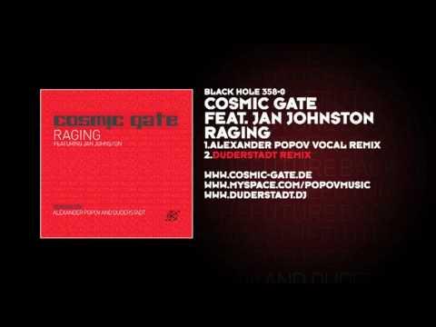 Cosmic Gate featuring Jan Johnston - Raging (Duderstadt Remix)