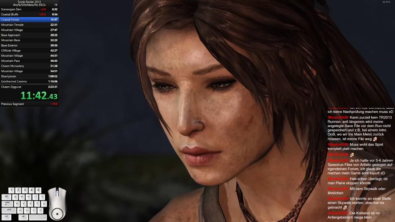 Tomb Raider 2013 Any%/Glitchless/No DLC Speedrun - YouTube