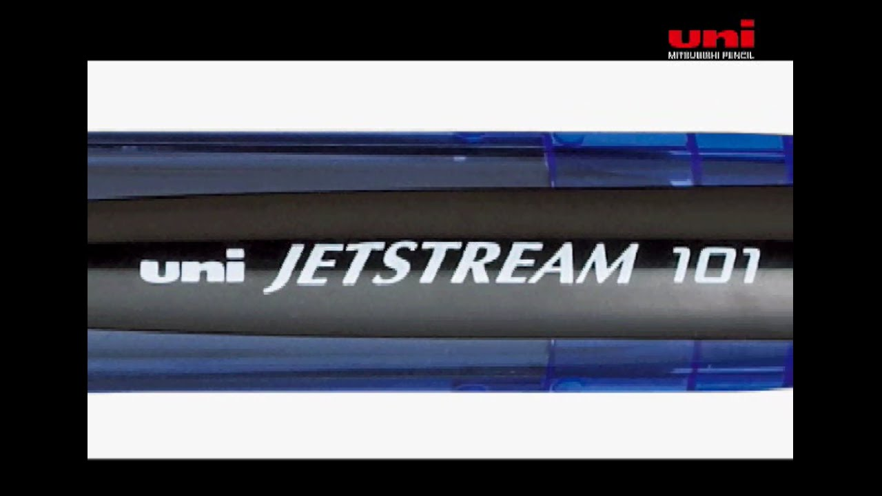 Uni-Ball Vision Elite Roller Ball Pen Review - YouTube