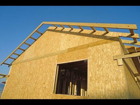 Как сделать фронтонный свес на крыше 936