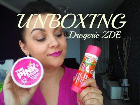 Unboxing - Drogerie ZDE