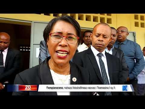 INFO K MADA: MEN Toamasina DU 05 MAI 2019 BY KOLO TV