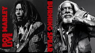 Bob Marley {Live} Burning Spear | The Best Reggae Music | Positive Roots Reggae | Luciano