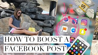 How to Boost a Facebook Post Successfully 2018