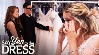 Bride Picks a Dress Double Her Budget! | Say Yes To The Dress …