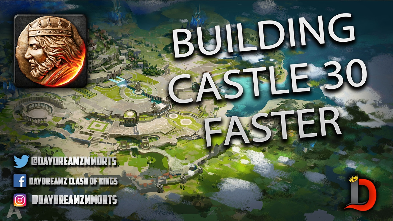 BUILDING TO LEVEL 30 CASTLE FASTER - War and Order