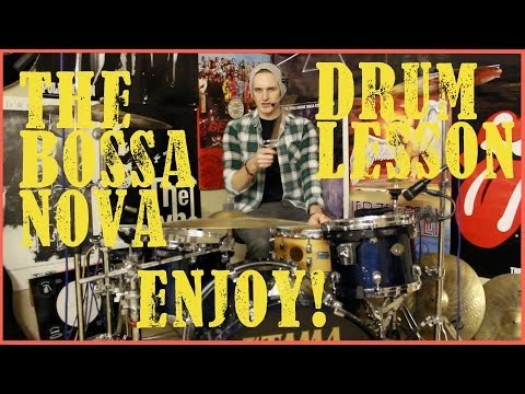 Bossa Nova Drum Lesson #136