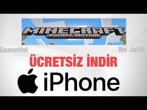 iPhone Ücretsiz Minecraft PE İndirme