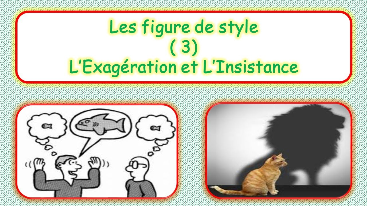 Les Figures de style ( 3 ) : L'Hyperbole / L'énumération ...