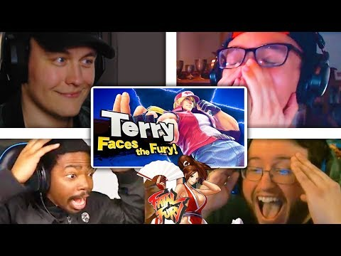 All Reactions to Terry Bogard from Fatal Fury Reveal Trailer - Super Smash Bros. Ultimate