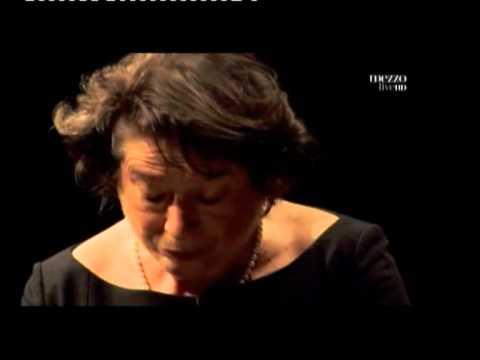 Elisabeth Leonskaja in Sonata K 332 Adagio by W,A,Mozart