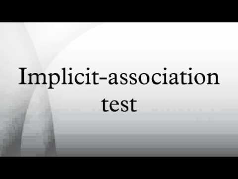 Implicit-association test