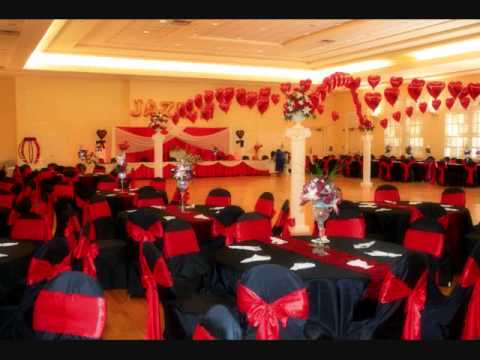 Decoracion de quinceaneras by decoraciones jd - Decoracion en blanco y negro ...