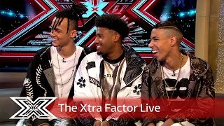 Matt and Rylan chat to 5 After Midnight | Final | The Xtra Factor Live 2016